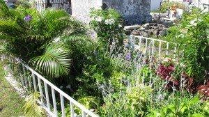 De nombreuses tombes sont des jardins
